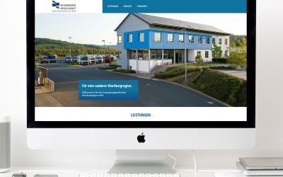 Website Entsorgunsgesellschaft  Wartburgregion mbH