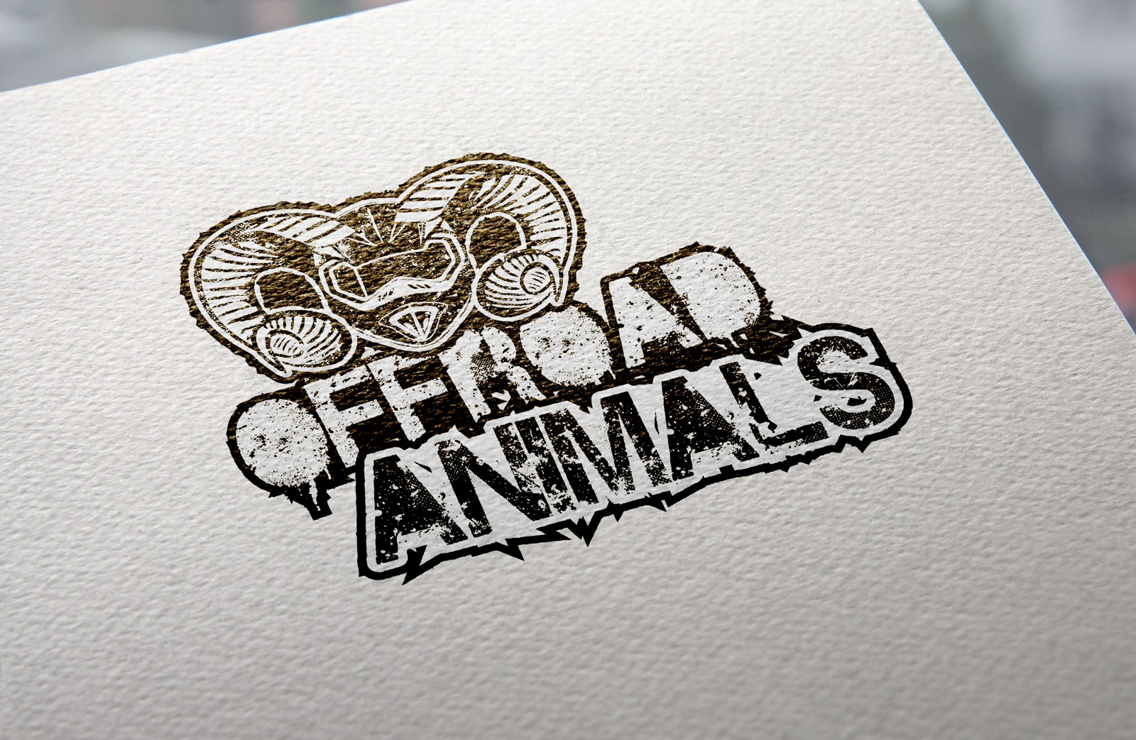 Offroad Animals Logo