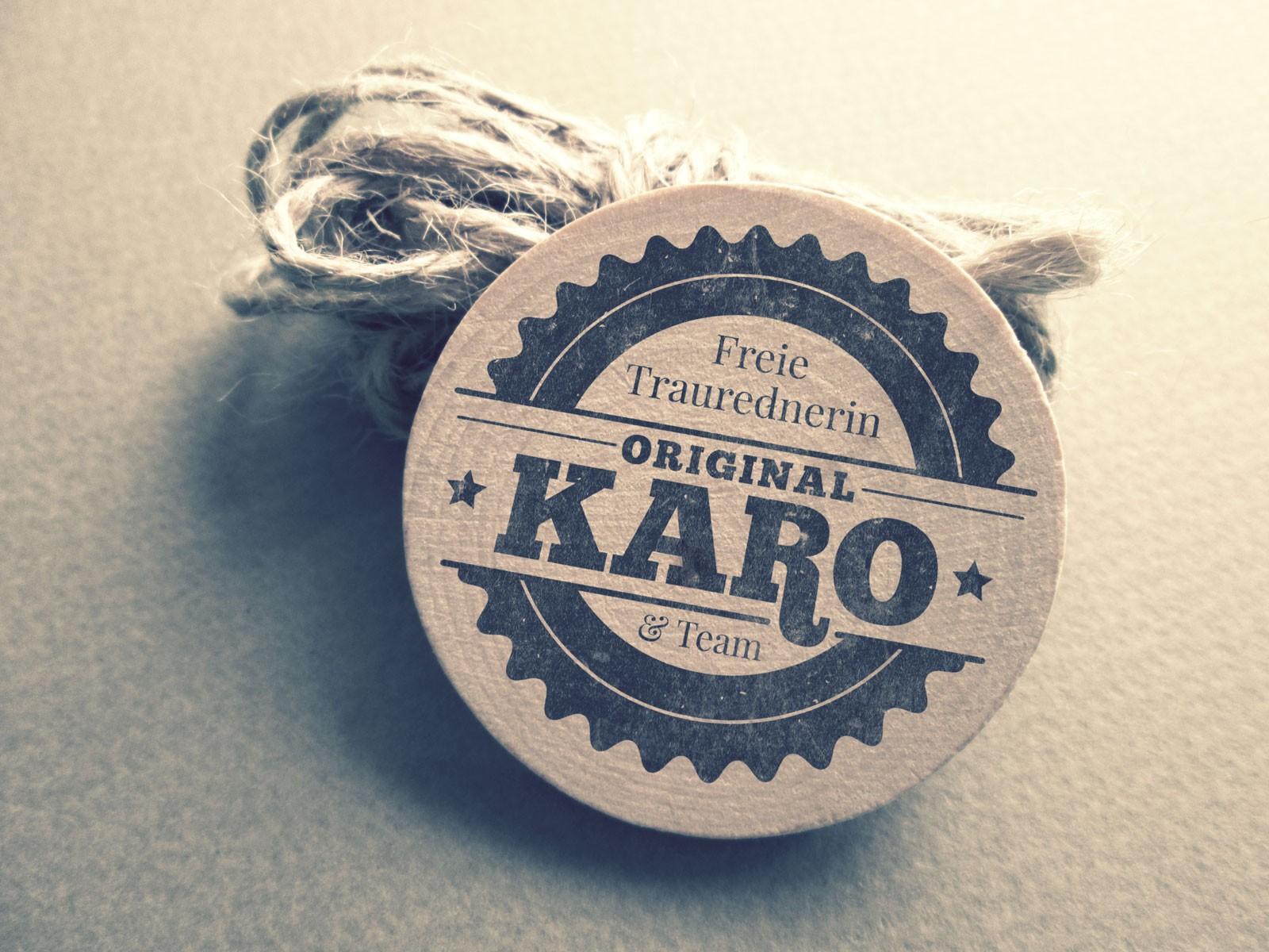 Logo Original Karo Freie Traurednerin & Team